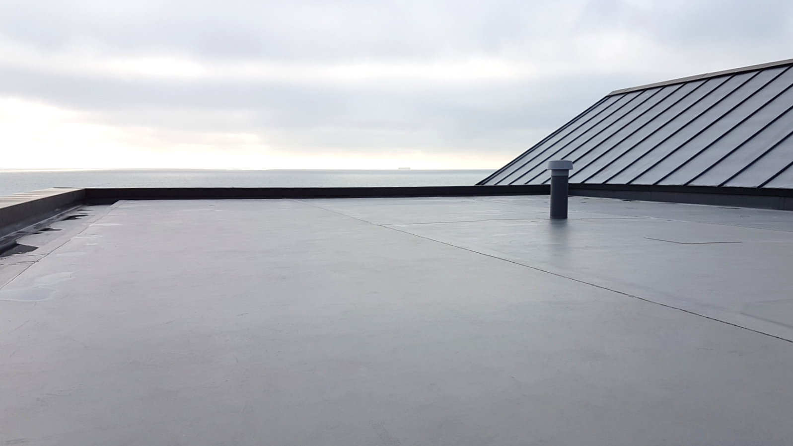 Sarnafil Roofing | Single Ply Roofing Installation | Salmon